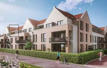 Moderne 2-Zi.-Wohnung mit Loggia in zentraler Lage