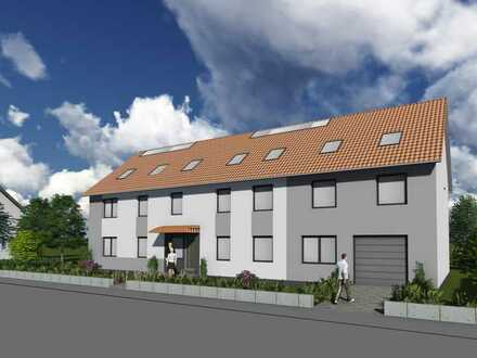 Projektiertes 4 Familienhaus mit Baugrundstück