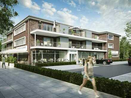 Erstbezug - Elegante, sonnige Etagenwohnung mit Balkon und PKW-Stellplatz