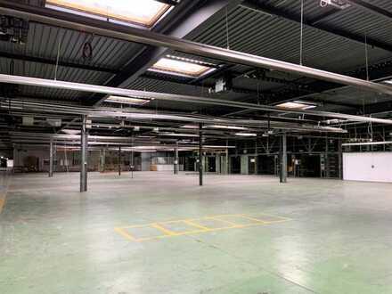 Produktions-/Lagerfläche mit Verwaltungsgebäude | gute Anbindung | Rampenandienung + ebenerdig