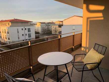 Wunderschöne möblierte DG-Wohnung in Neubiberg