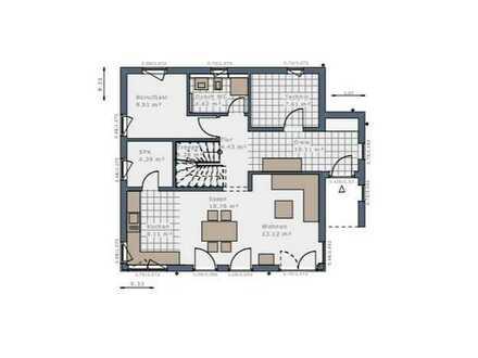 Ihr Traumhaus auf einem traumhaftem Grundstück - in Ortsrandlage (Version mit Keller)