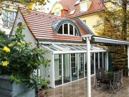 **VILLENLAGE** REPRÄSENTATIV am Botanischen Garten BERLIN-DAHLEM - BELETAGE + REMISE