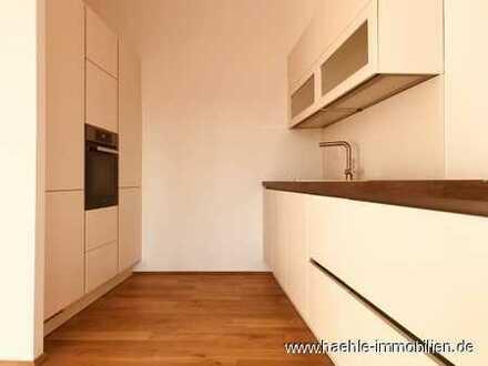 Großzügige 4 Zimmer Wohnung mit hochwertiger Badausstattung und Balkon - Erstbezug mit EBK!