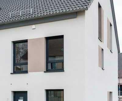 Erstbezug: stilvolle 5-Zi.-Townhouses mit Einbauküche, Terrasse und Garten (Americans are welcome)