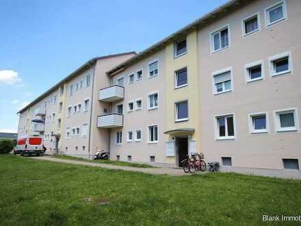 Helle vermietete und möblierte 3-Zimmer-Wohnung mit 4,7 % Mietrendite - in Kempten