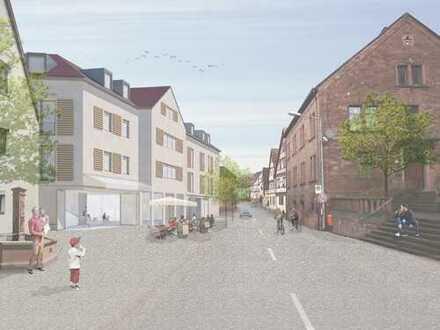 Neubauprojekt! Große 3 Zi. Wohnung mit tollem Mainblick - barrierefrei!