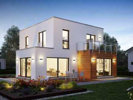 Stadtvilla mit einer modernen Architektur und ein Energiesparhaus vom Ausbauhaus-Marktführer!