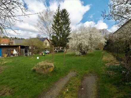 Baugrundstück in Liegau – Augustusbad zu verkaufen. Ländliches Umfeld / ruhige, erholsame Wohnlage.