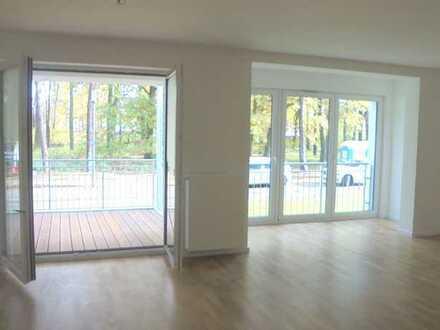 AB SOFORT FREI! 4 ZW-NB im 1.OG-mit Aufzug-in Großauheim-Lehrhöfer Park mit 10 m² Balkon!