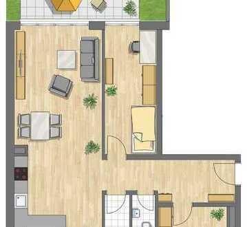 3 Zimmer Gartenwohnung mit 88 m²