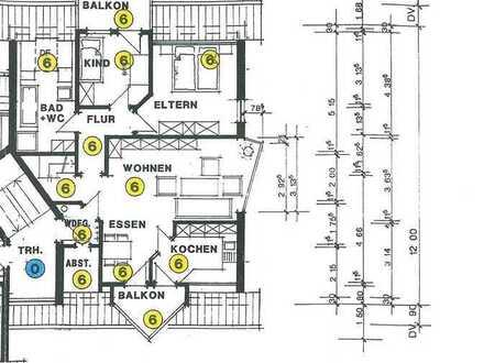 Schöne vier Zimmer Wohnung in Spaichingen