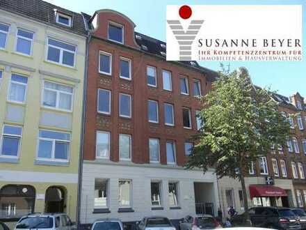 Kiel - Hassee - Rendsburger Landstr. 49. Modernisierte 3 Zimmer Wohnung im Hochparterre - Frei