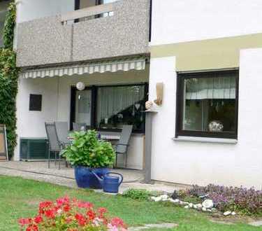 Ruhige 3-Zimmer-Wohnung mit Loggia und Gartenanteil