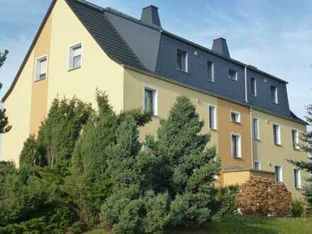 Energieeffizienz-Haus sucht neuen Mieter, schöne sonnige Wohnung mit Blick übers Erzgebirge