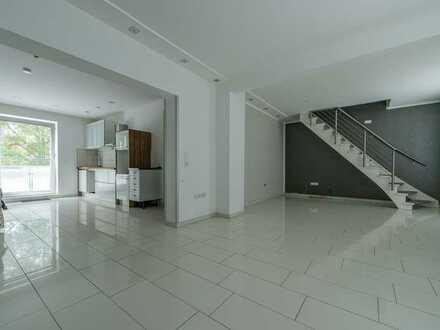 Moderne 3,5-Zimmer-Maisonette-Wohnung mit Balkon in Essen