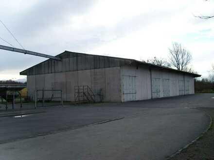Lagerhalle zu verkaufen