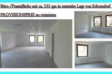 **Büro-/Praxisfläche mit ca. 133 qm in bester Lage in Schorndorf**