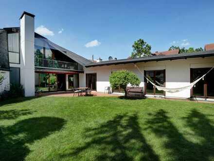 Familientraum in Waldtrudering! Architekten-Doppelhaus-Bungalow in herrlicher Lage