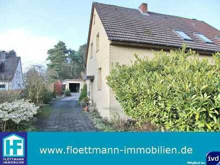 Ein-Zweifamilienhaus mit Baugrundstück in Toplage von Bielefeld-Senne!