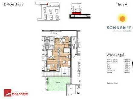 Wohnpark Sonnenfeld, EG, 2-Zimmer, Wohnung 8