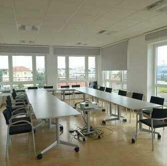 Ihr Platz in der 1. Reihe - repräsentative Büroetage mit Sonnenterrasse - Obertshausen