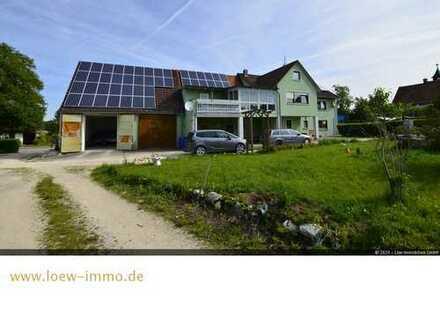 Großzügiges Mehrgenerationenhaus mit Gewerbefläche und Bauplatz für ein Doppelhaus