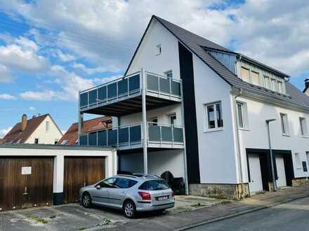 Gepflegte 3,5-Zimmer-Wohnung mit XXL Balkon und Einbauküche
