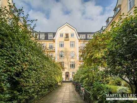 **Neu- im Altbau** *Rondeelteich & Alster um´s Eck* 124 m² Nfl. / 101 m² Wfl.-ohne Blk. & ohneLift-