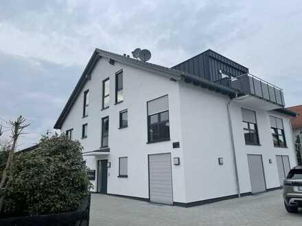 Erstbezug mit Balkon: stilvolle 3-Zimmer-Erdgeschosswohnung in Schaafheim