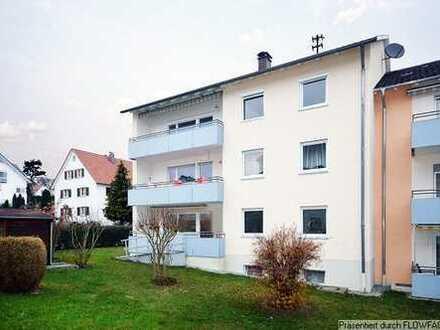 Schöne 4 Zimmer Wohnung mit Balkon und Garage in Aulendorf