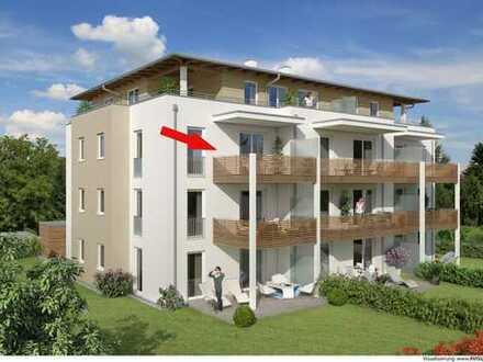 River Side - Exklusive, sonnige 4-Zimmer-Wohnung mit großem Terrassenbalkon