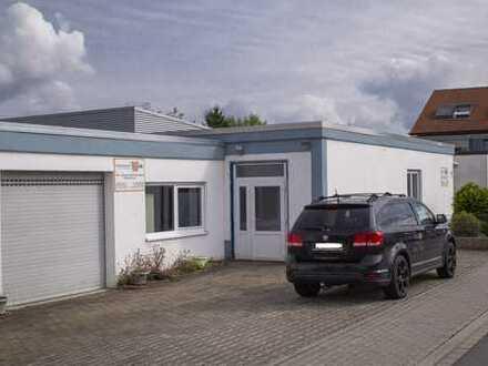 Gewerbehalle mit Wohnhaus und Büroflächen - Ein Objekt und viel Verwendung!