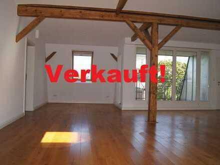 """Einzigartige Südstadtwohnung mit Loggia im Dachgeschoss der Villa """"Argelander"""" VERKAUFT!"""