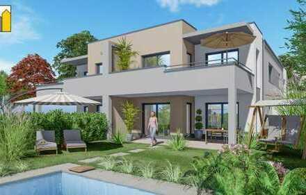|| WOHNEN im GRÜNEN mit 1A-Verkehrsanbindung ||Neubau-ETW im 2 Fam. Haus mit großem Balkon + Garten