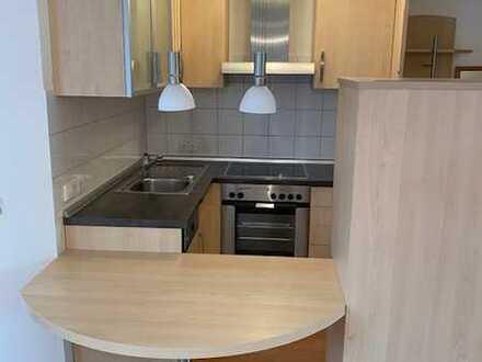 Modernisierte 2-Zimmer-DG-Wohnung mit Einbauküche in Villingen-Schwenningen