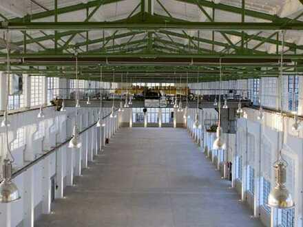 Halle für Produktion/Gewerbe/Handel in der Zeitenströmung