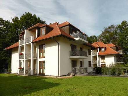 Kapitalanlage: 2 Zimmer in wunderschöner, ruhiger Lage am Weißen Hirsch mit Loggia und Balkon