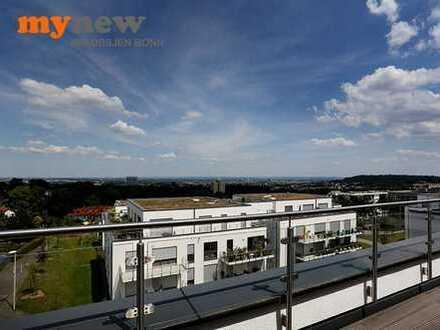 mynew: **** Neubau-Erstbezug! Penthouse mit Dachterrassen und Fernblick bis zum Dom ****(WE A17)