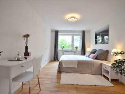 NEU saniert-jetzt bezugsfrei! Sonnige 2-Zimmer Wohnung mit Südbalkon in Hadern