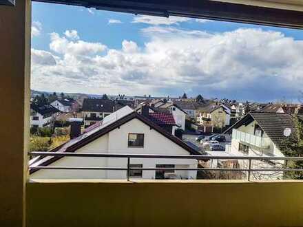 Fühlen Sie sich wohl? Oder sind Sie zuhause? 4-Zimmer mit Balkon im begehrten Schweinheim.