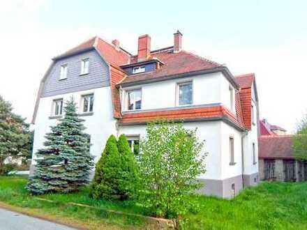 Moderne 3-Raum-DG-Wohnung mit gem. Wiesengrundstück in ruhiger Wohnlage - ca. 5 km südlich von BZ
