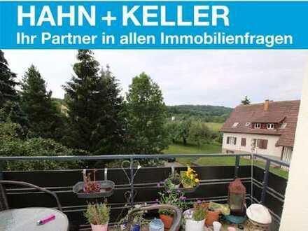 Naturliebhaber aufgepasst! 3 Zimmer Wohnung mit Balkon im Grünen!