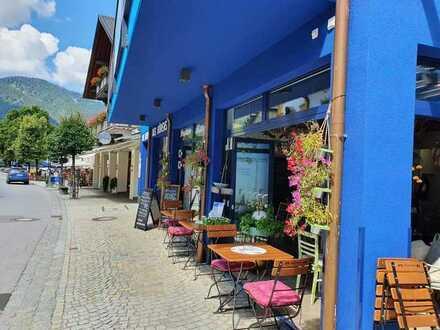 Beliebtes Café - Bistro - Restaurant direkt im Herzen von Oberammergau