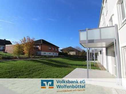 Einziehen und wohlfühlen! 4 Zi.-Neubau-Erdgeschosswohnung mit Terrasse!
