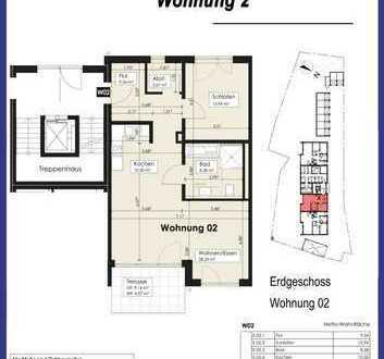 2-Zimmer-Erdgeschoßwohnung in Illerrieden in guter Lage