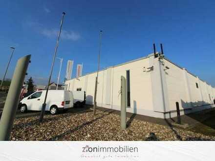 Moderne Mehrzweck-Gewerbehalle mit Lager, 30 PKW-Stellplätze, 1250qm im TOP-WEST Gewerbepark