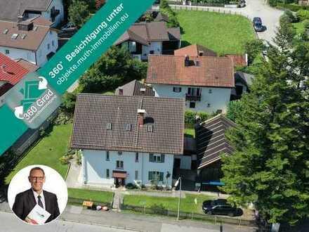 Wunderbares 918 m² Eckgrundstück in sonniger PARTENKIRCHENER Lage mit Altbestand