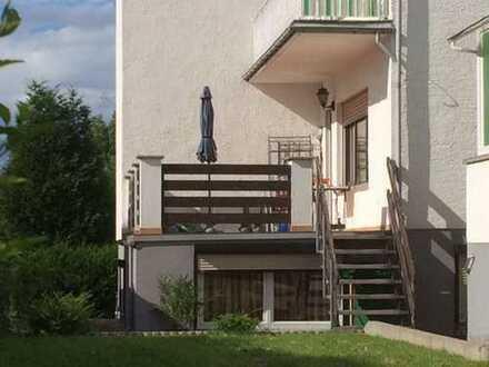 """Bad Vilbel (OT Gronau) große Whg mit Terrasse /Garten + 70 qm zu """"Wohnraum"""" ausgebautem Souterrain"""