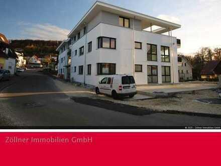 Erdgeschoss-Wohnung mit großzügiger Terrasse im Zentrum von Essingen